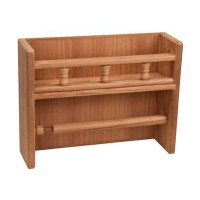 Teak Spice and Paper Towel Rack